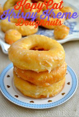 KopyCat Krispy Kreme Doughnuts