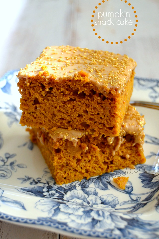 pumpkin snack cake recipe