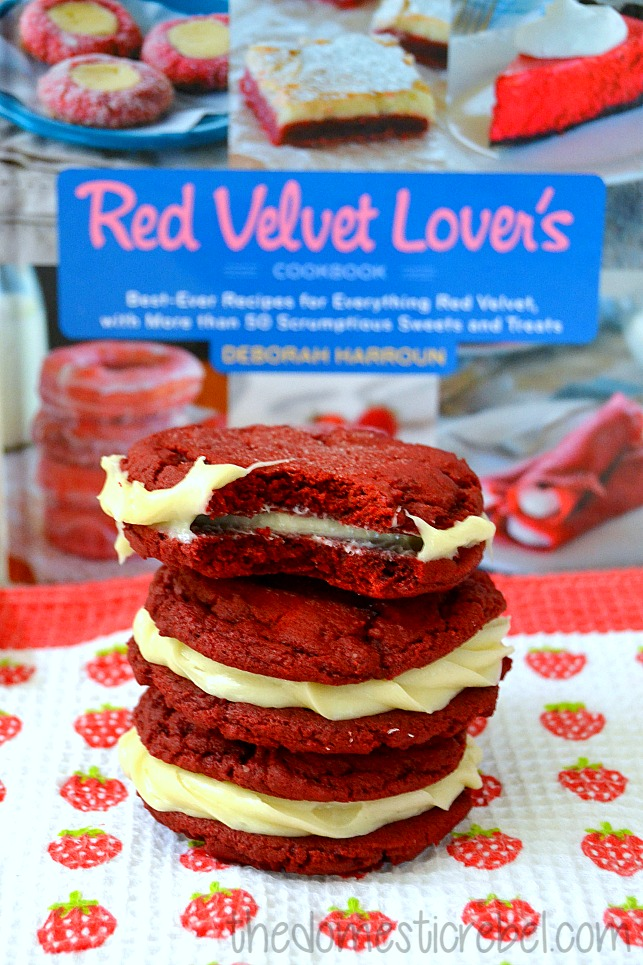 red velvet oreos recipe