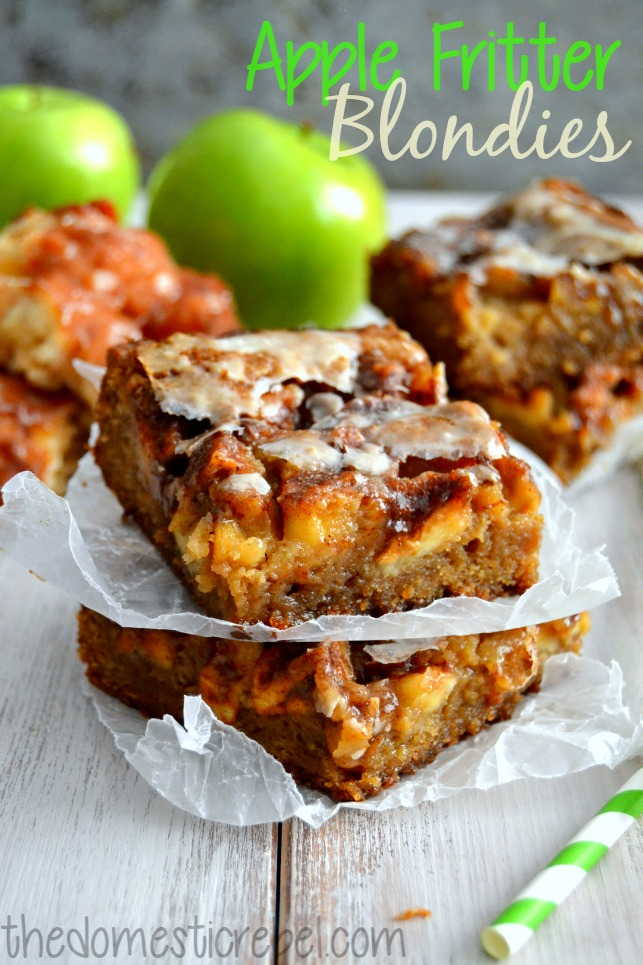 applefritterblondies