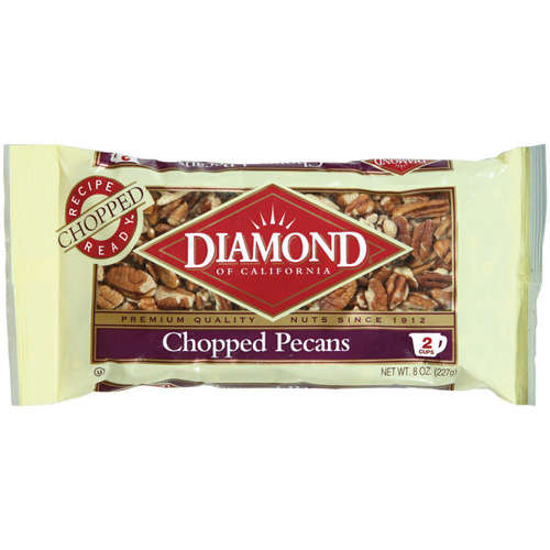 diamond chopped pecans packaging