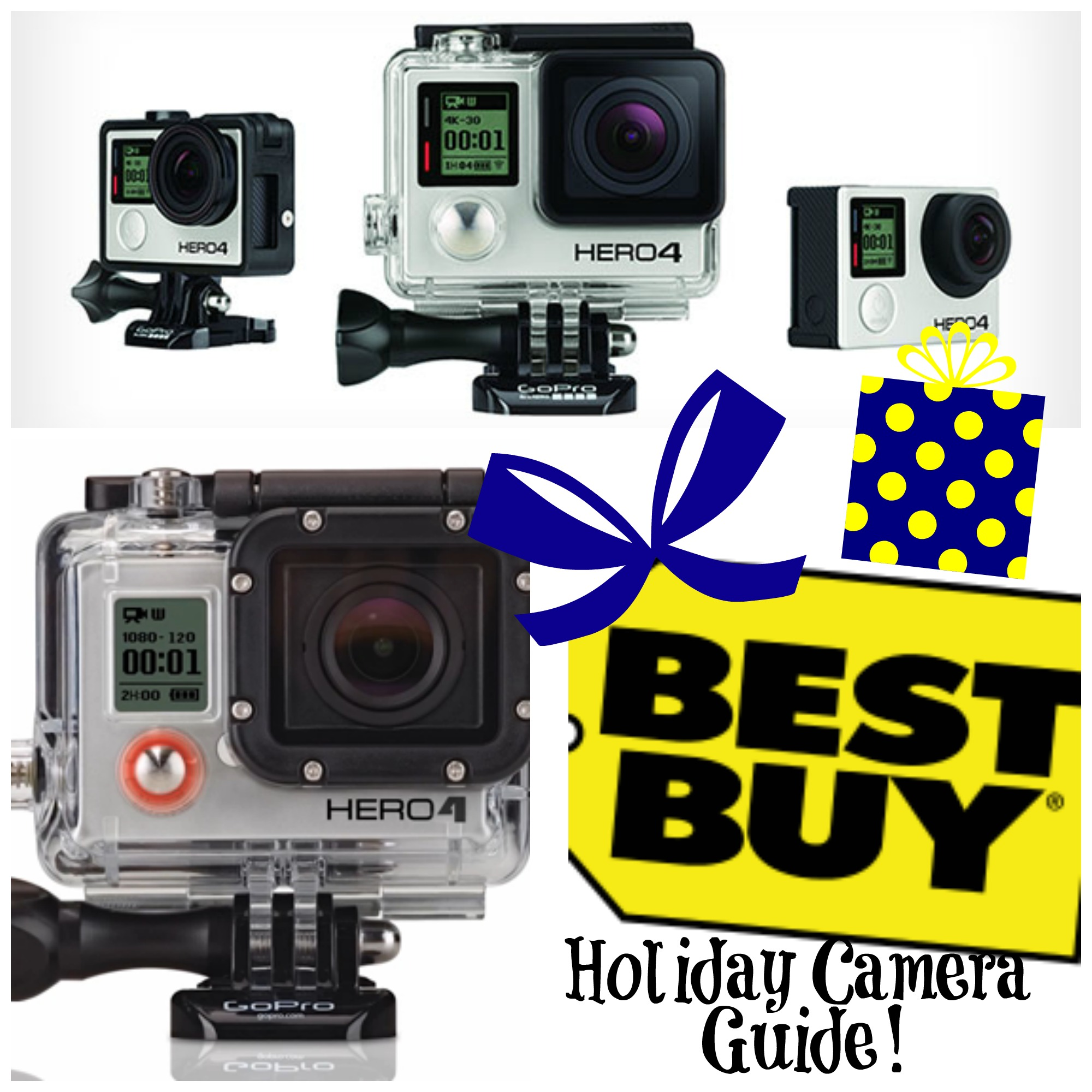 Buy: Best Buy GoPro Camera Holiday Gift Guide!
