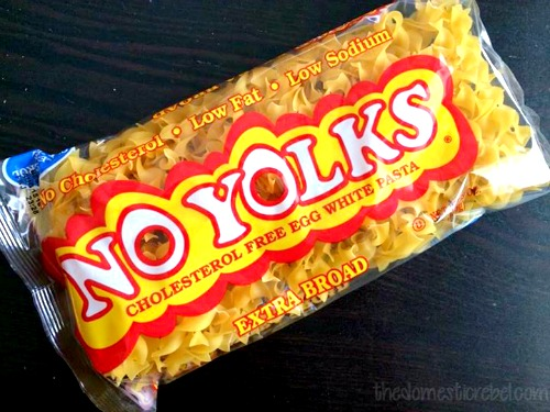 photo of no yolks pasta