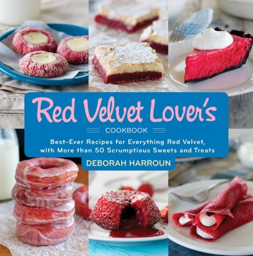 red velvet lovers cookbook graphic