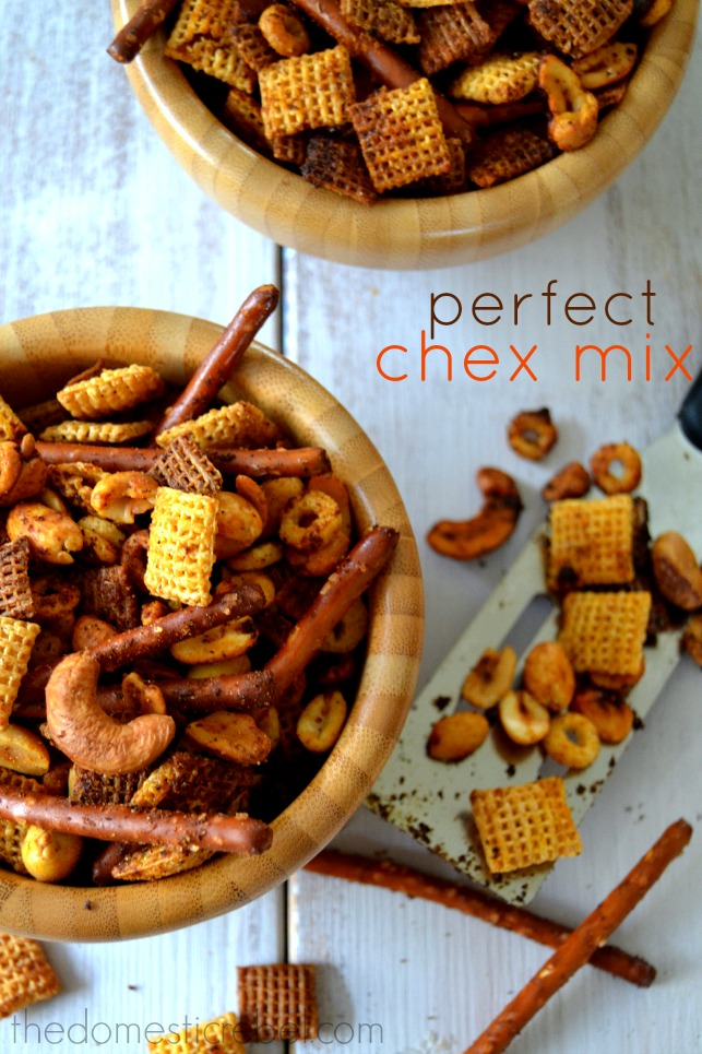 Perfect Chex Mix