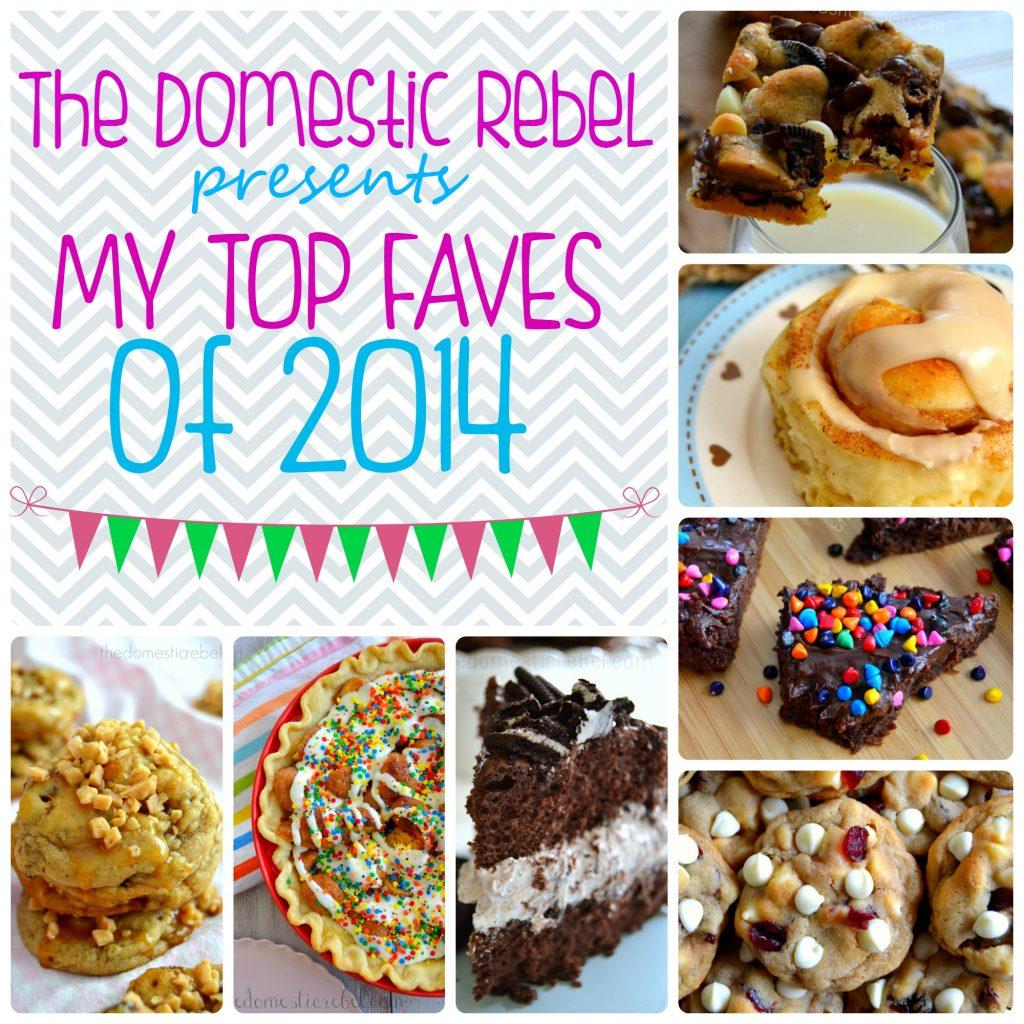 2014 favorite recipes
