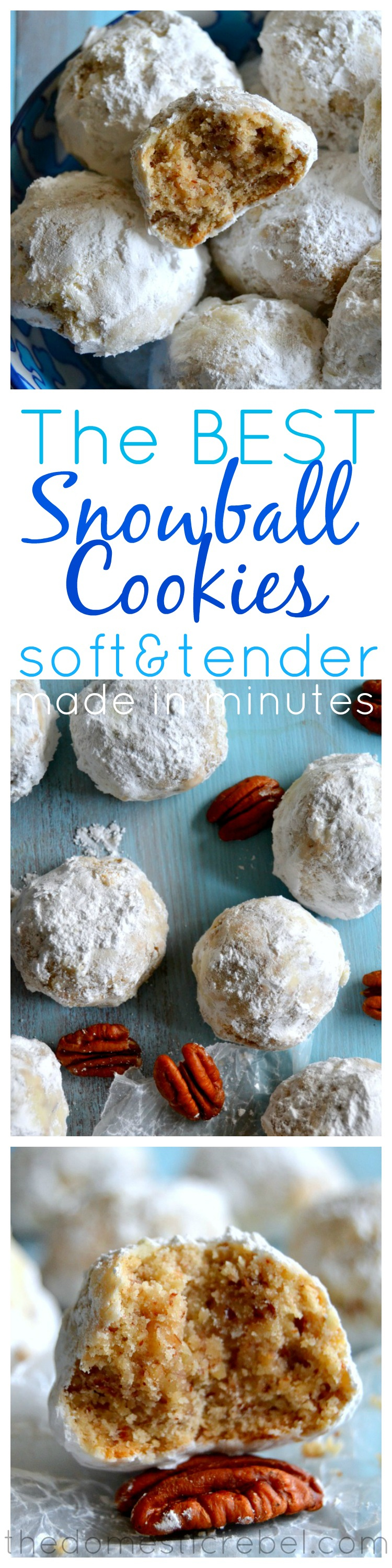 The BEST Snowball Cookies {Or Russian Tea Cakes. Or ...