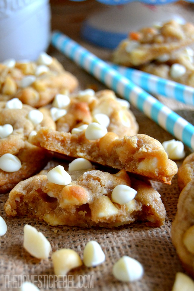 White Chip Macadamia Cookies