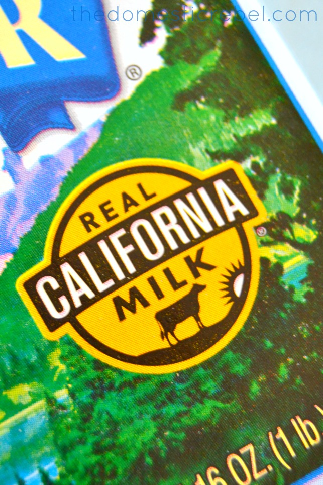 Real CA Milk Seal up close