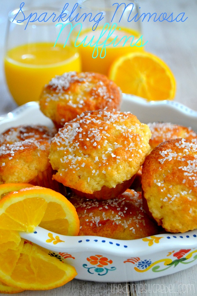 Sparkling Mimosa Muffins