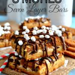 Biscoff Smores Seven Layer Bars