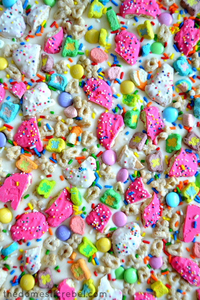 Lucky Rainbow Bark close-up to show detail
