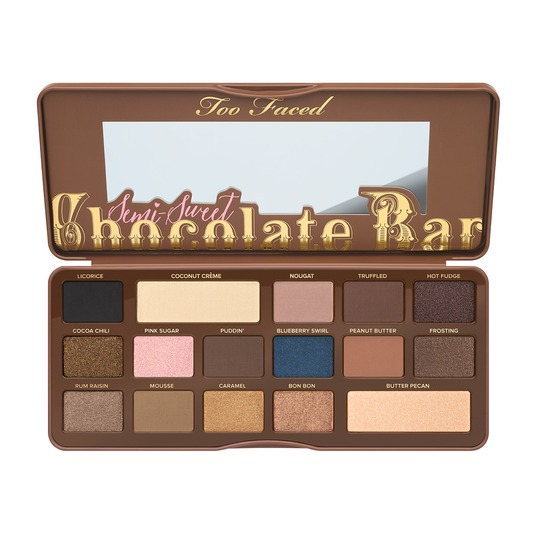 toofaced makeup chocolate bar palette