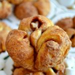 Magic Marshmallow Monkey Bread Muffins are cinnamon-sugar encrusted monkey bread muffins filled with marshmallows! The marshmallows magically disappear during baking, making for a great St. Patrick's Day treat!