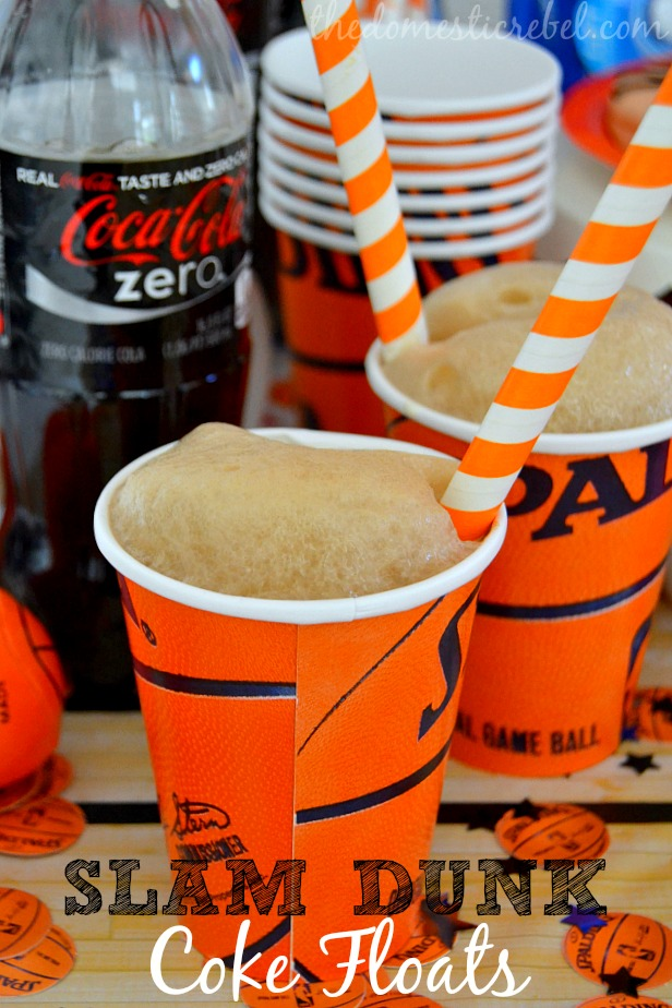 Slam Dunk Coke Floats