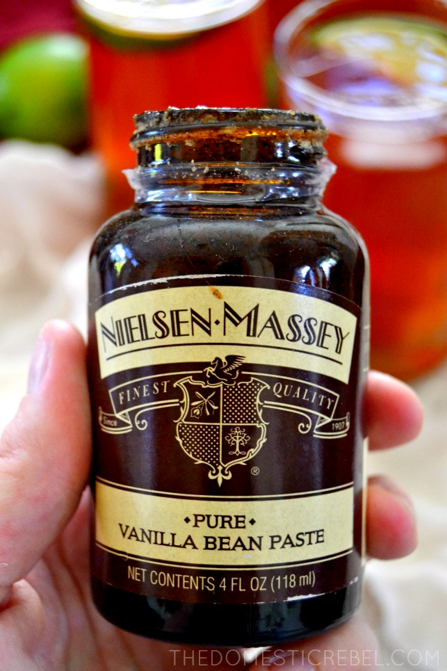 Jar of Vanilla Bean Paste