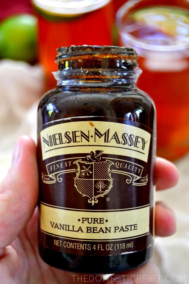 Vanilla Bean Cherry Rum Punch Recipe