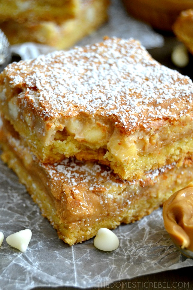 ... gooey white chocolate fluffernutter cake bars gooey white chocolate