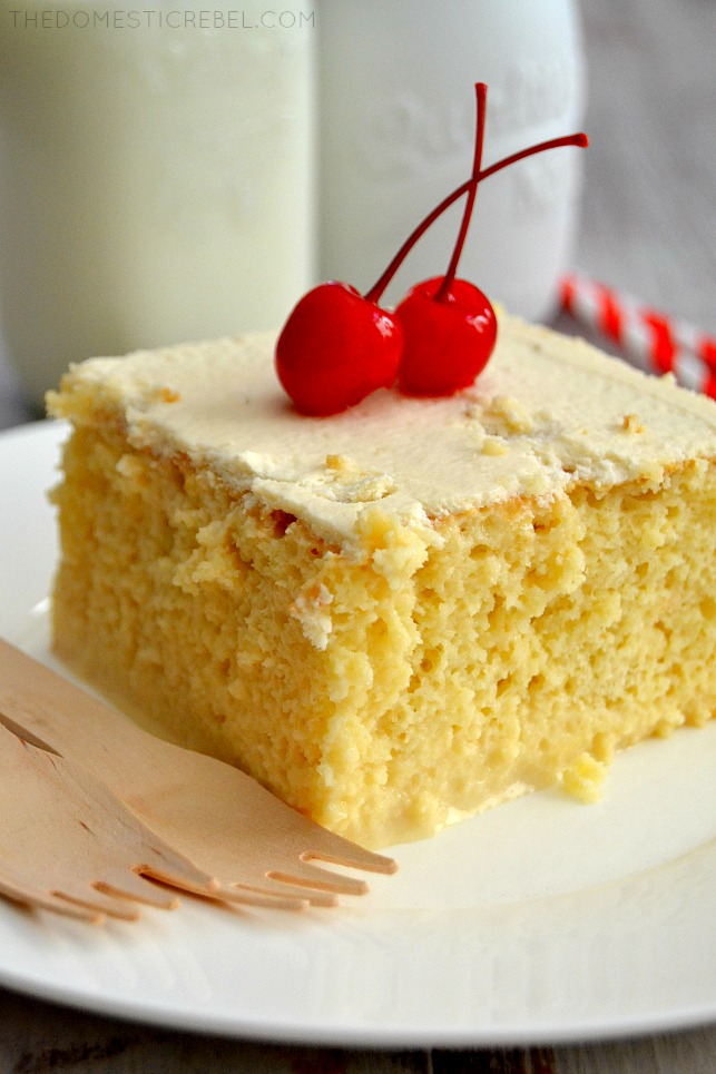 This Tres Leches Cake Is Truly The BEST And EASIEST Youll Make