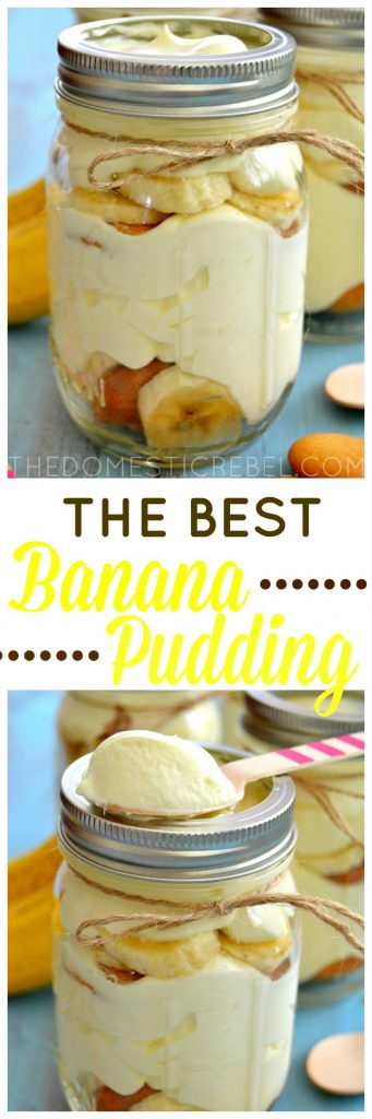 Best Banana Pudding collage