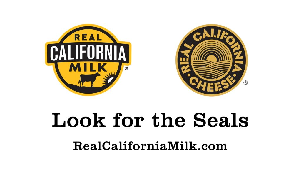 Real California milk seals graphic