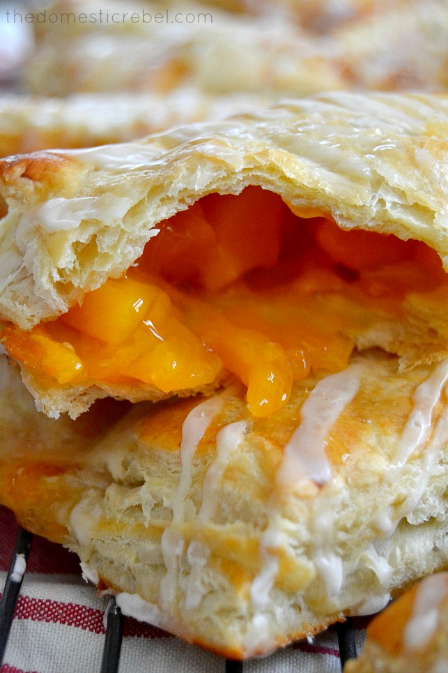 easy peach turnovers easy peach turnovers by one year ago brisket ...