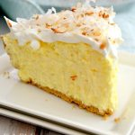This No-Bake Easy Coconut Cream Pie is a classic recipe you must try! Creamy, light, fluffy and coconutty, it tastes like it's made from scratch without all the effort.