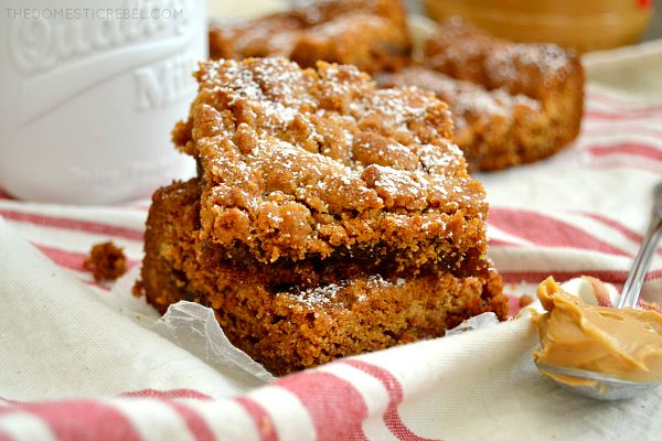 These Peanut Butter & Jelly Bars are a fun, easy recipe spin on the classic after-school lunch.