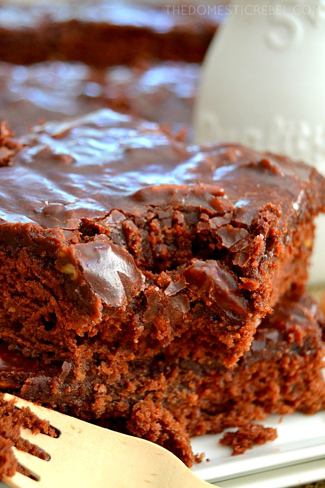 This Best-Ever Texas Sheet Cake is moist, chocolaty and ultra rich and SO easy to make! An impressive dessert for company or potlucks, too!
