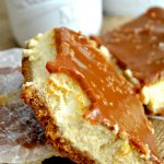These Dulce de Leche Cheesecake Bars are a sweet and salty lover's dream come true! You'll love this easy, foolproof cheesecake recipe!