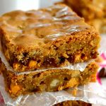 These Triple Chip Blondies are the BEST! Buttery, chewy, gooey and loaded with butterscotch, peanut butter and chocolate chips, they're sure to please everyone's taste buds!