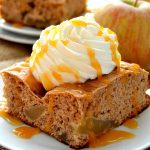 This Caramel Apple Spice Cake is sure to please everyone! You won't believe that this cake takes only THREE simple ingredients to make!