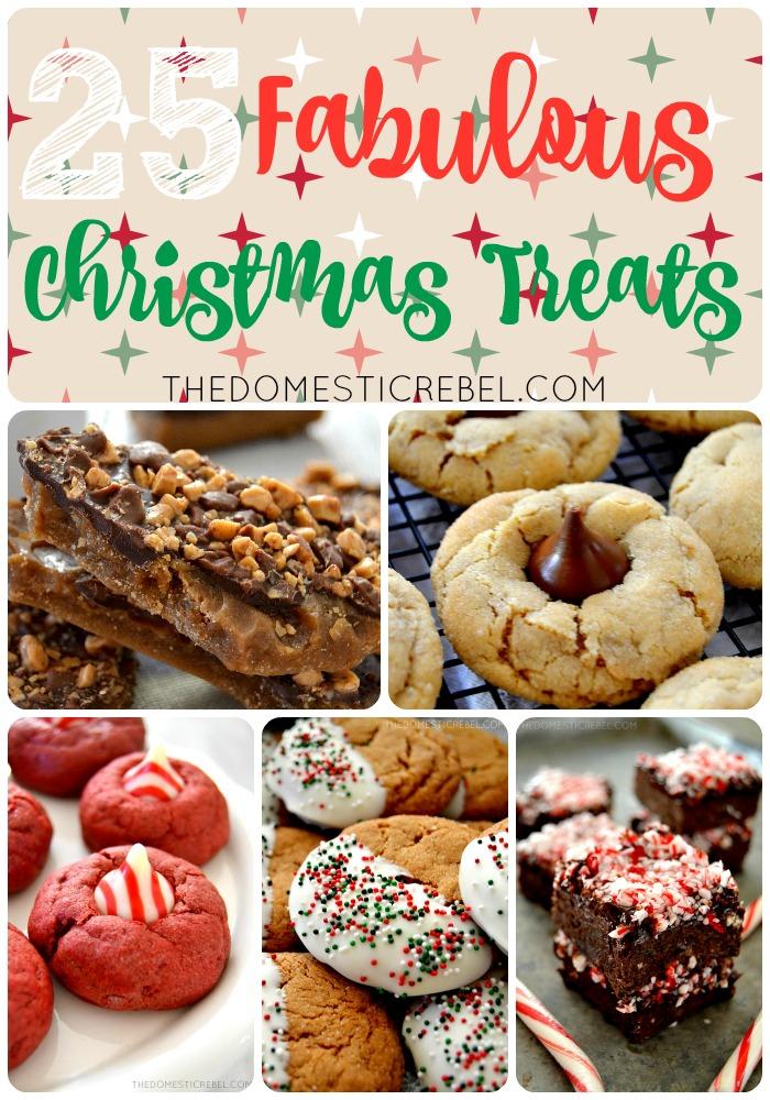 25 Fabulous Christmas Treats