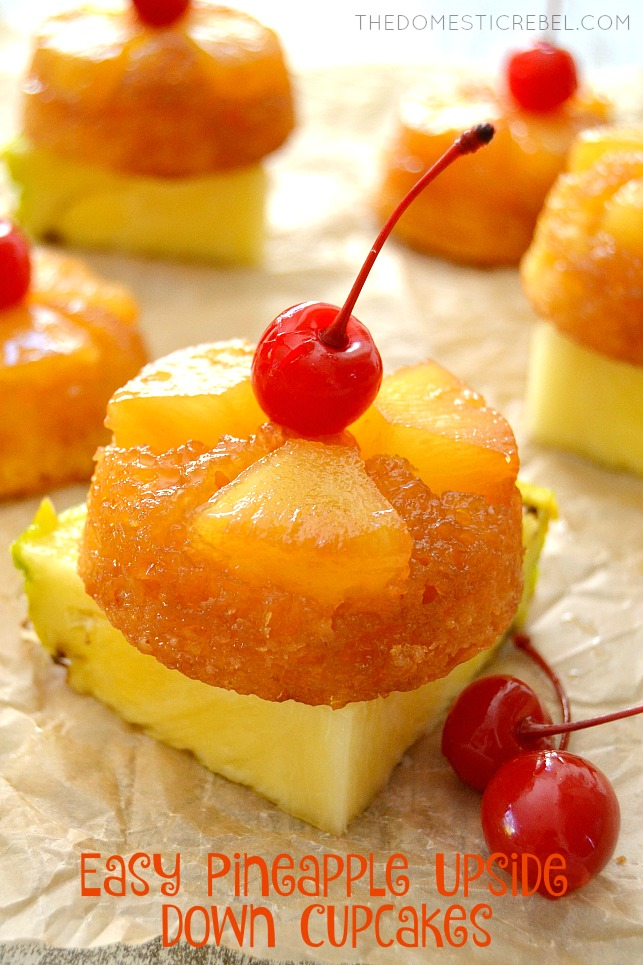 Quick And Easy Pineapple Upside Down Cake From Scratch