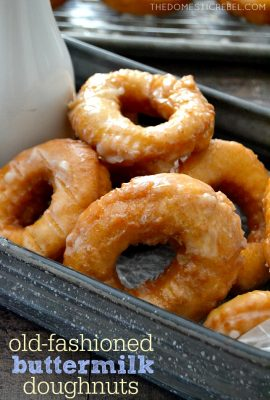 Easy Homemade Buttermilk Old Fashioned Doughnuts