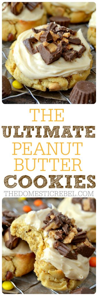 Ultimate PB Cookies collage