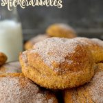 These Soft & Chewy Pumpkin Snickerdoodles are the BEST snickerdoodles I've had! Crisp outer edges with soft, chewy and fluffy centers and pure pumpkin spice flavor. Easy, effortless and PERFECT!