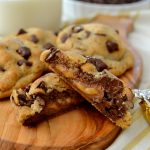 Caramel-Filled Chocolate Chip Cookies