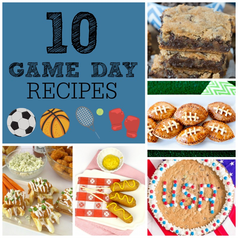 10 Game Day Recipes featuring Krusteaz mixes! You won't want to miss this list which offers sweet and savory options for your favorite sports games!