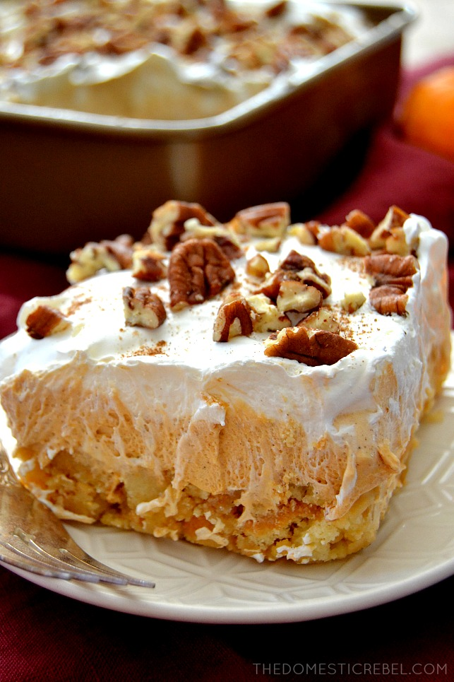 This Pumpkin Pie Lush Dessert Is Such A Fantastic No Bake Treat Layers Of