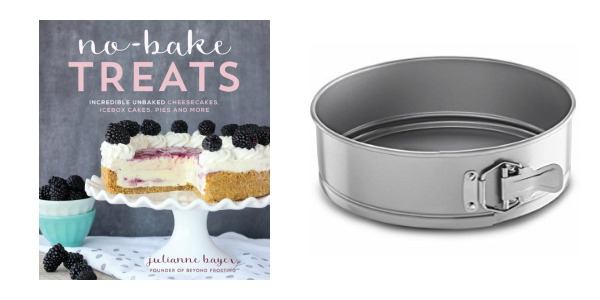 No Bake Treats Cookbook + Springform Pan Set