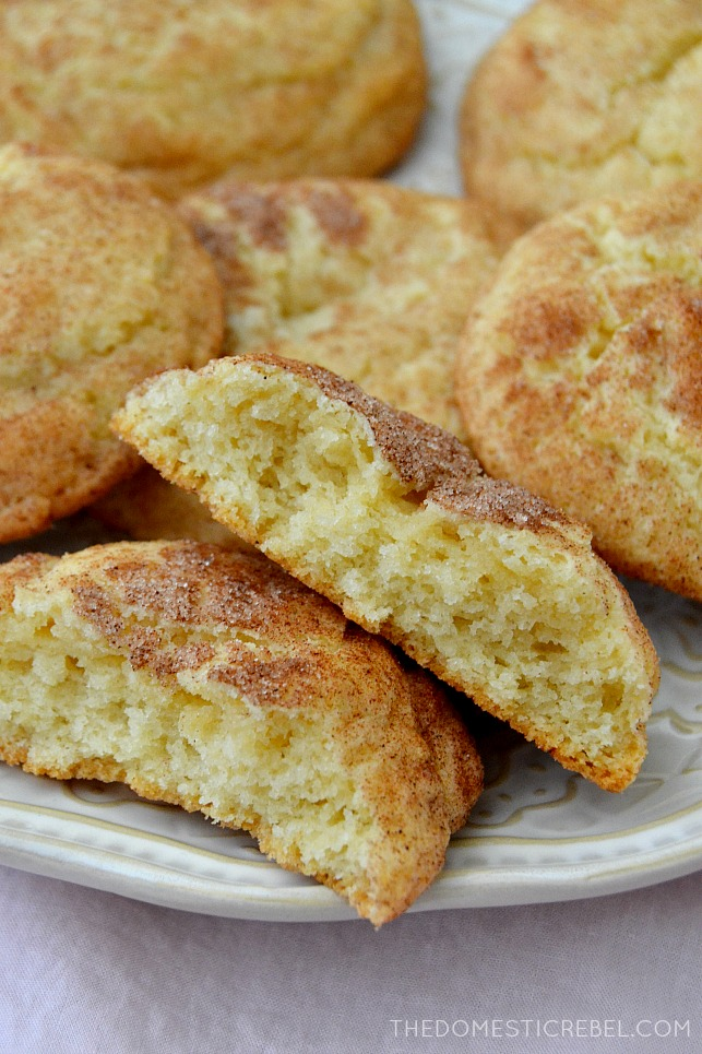 The Best Soft Amp Chewy Snickerdoodles The Domestic Rebel
