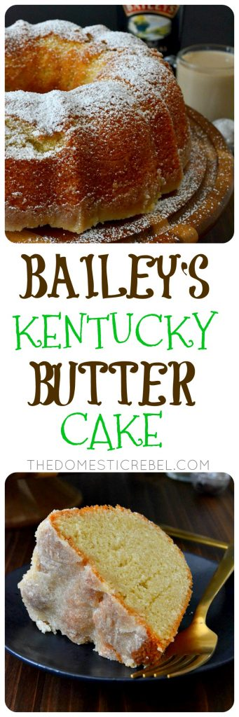BAILEY'S KENTUCKY BUTTER CAKE COLLAGE