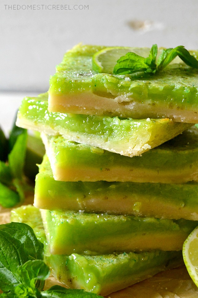 6 MOJITO BARS STACKED ON TOP OF EACH OTHER