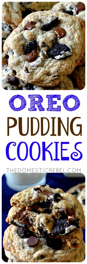 OREO PUDDING COOKIES COLLAGE