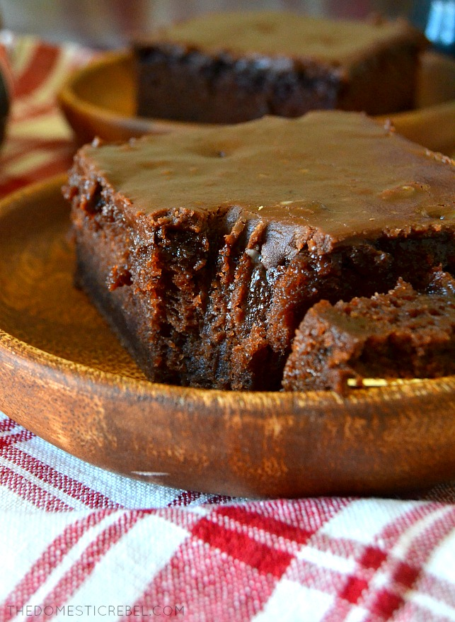 This Coca Cola Chocolate Cake is a marvel! Moist, fluffy, intensely chocolaty cake topped with a buttery, cola syrup poured frosting that's out of this world delicious. A total crowd-pleasing sheet-cake recipe that's so simple to make!