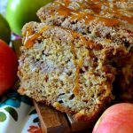 This is the BEST Caramel Apple Bread recipe! Moist, fluffy and tender cinnamon-spiced bread filled with chunks of apples, buttery caramel, and a brown sugar streusel ribbon. Super easy, totally unforgettable and perfect for using up apples!