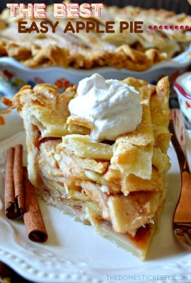 The BEST (and Perfect) Classic Apple Pie
