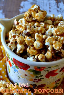 Best Ever Caramel Popcorn Recipe
