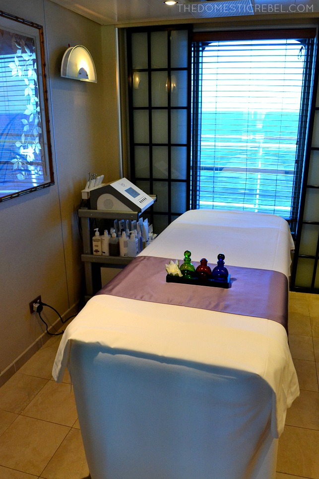 The Lotus Spa on the Ruby Princess